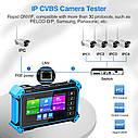 Moнитор тестер 8MPвидеонаблюдения IPC-5100 Plus 12MP IP\CCTV CVBS CVI TVI AHD 8MPonvif POE 12в,1920x1080 Wi-Fi, фото 3