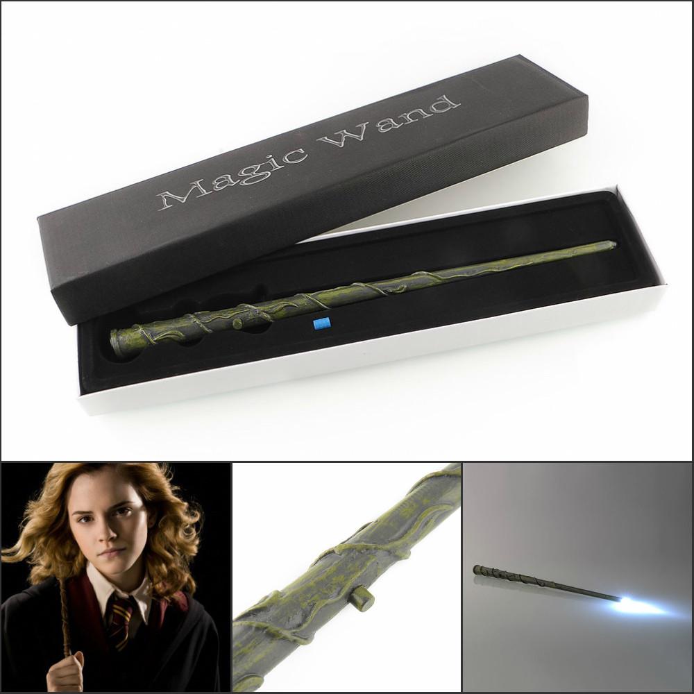 Волшебная палочка светящаяся Гермионы Грейнджер в подарочной упаковке