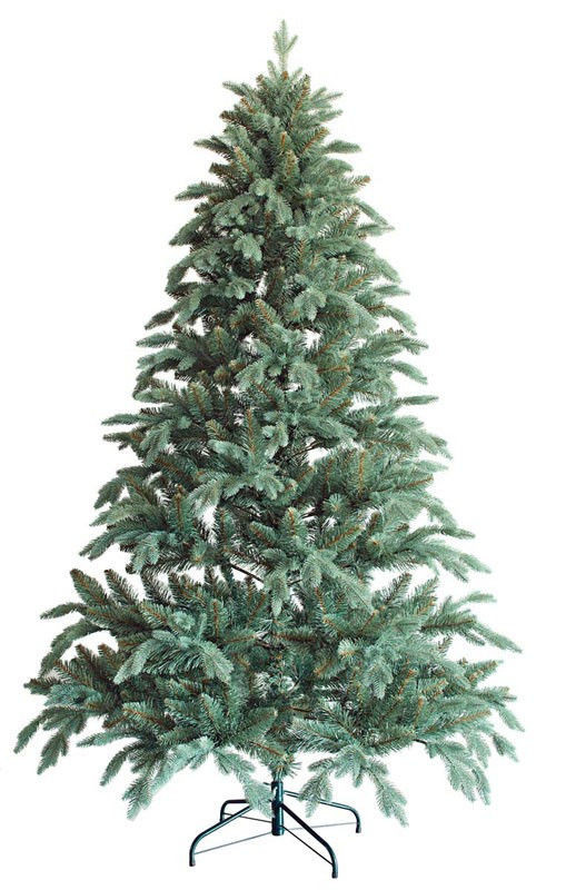 Искусственная новогодняя литая Ёлка 150см ( ель ) 1.5м Президентская Зеленая