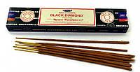 Благовония масала Nag Champa Black Diamond, Черный Бриллиант, Satya, Индия, Черный Алмаз (15g)