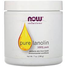 "Чистый ланолин NOW Foods, Solutions ""Pure Lanolin"" уход за кожей (198 г)"
