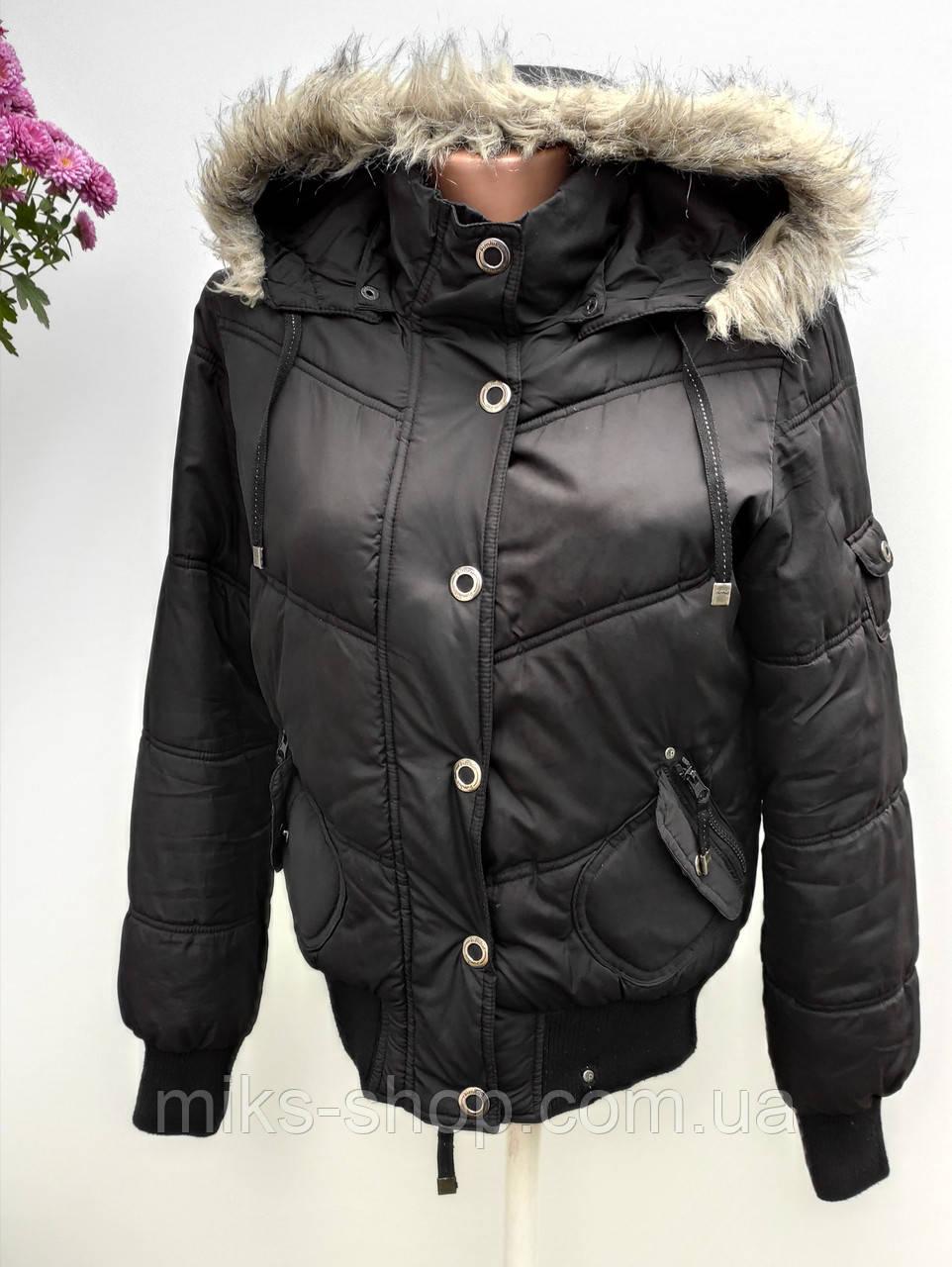 Жіноча куртка утеплена  Розмір М ( Б-49)
