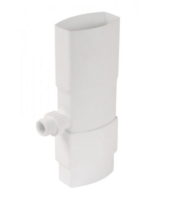 Рекуператор трубы водостока квадрат 90/56 мм отбор дождевой воды