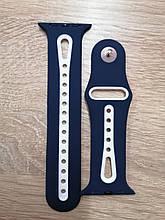 Ремешок Apple Watch Sport 42/44mm Blue-White
