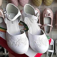 Белые туфли на каблуке 32,33,34,35,36,37 на каблуке. Туфли для бальных танцев