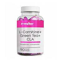 Л карнитин + зеленый чай Ironflex L-Carnitine + CLA + Green Tea