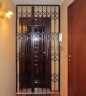 Раздвижная решетка на дверь Шир.1965*Выс2400мм для квартиры