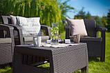 Стол садовый Allibert by Keter Corfu Coffee Table, фото 2