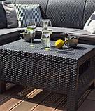 Стол садовый Allibert by Keter Corfu Coffee Table, фото 4