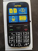 Кнопочный мобильный телефон Astro A241 Black