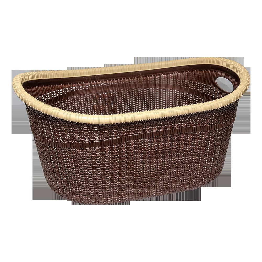 Корзина для белья GORDES 35 л коричневая
