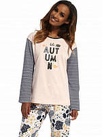 Пижама женская хлопковая 685 Autumn от Cornette (Польша) Отправка в день оплаты!, фото 1
