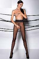 Колготки с доступом Tiopen 001 от Passion (Польша) Цвет черный, фото 1