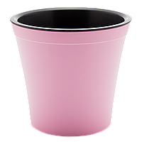 Вазон Орхидея 1,2 л розовый