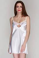 Сорочка атласная 516 от TM Serenade (Украина) Цвет молочный, фото 1