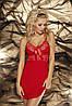 Женская сорочка с кружевом Ines TM Dkaren (Польша) Цвет красный