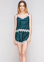 Велюровая пижама 5023 от Цвет зеленый Реал фото!, фото 1