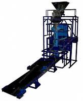 Фасовочно упаковочный автомат с весовым дозатором для упаковки в мешки (5 - 50кг)