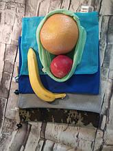 Многоразовая упаковка. Мешочки для яиц, овощей, фруктов и бобовых