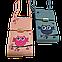 Женская сумочка для телефона. Совушка, лиловая. Стильная, яркая, ручная роспись, фото 8