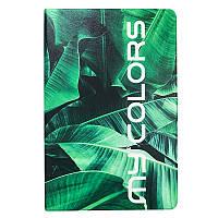 "Чехол книжка My Colors Leather Flip для планшета Samsung Galaxy Tab A7 10.4"" SM-T500 T505 2020 Джунгли"