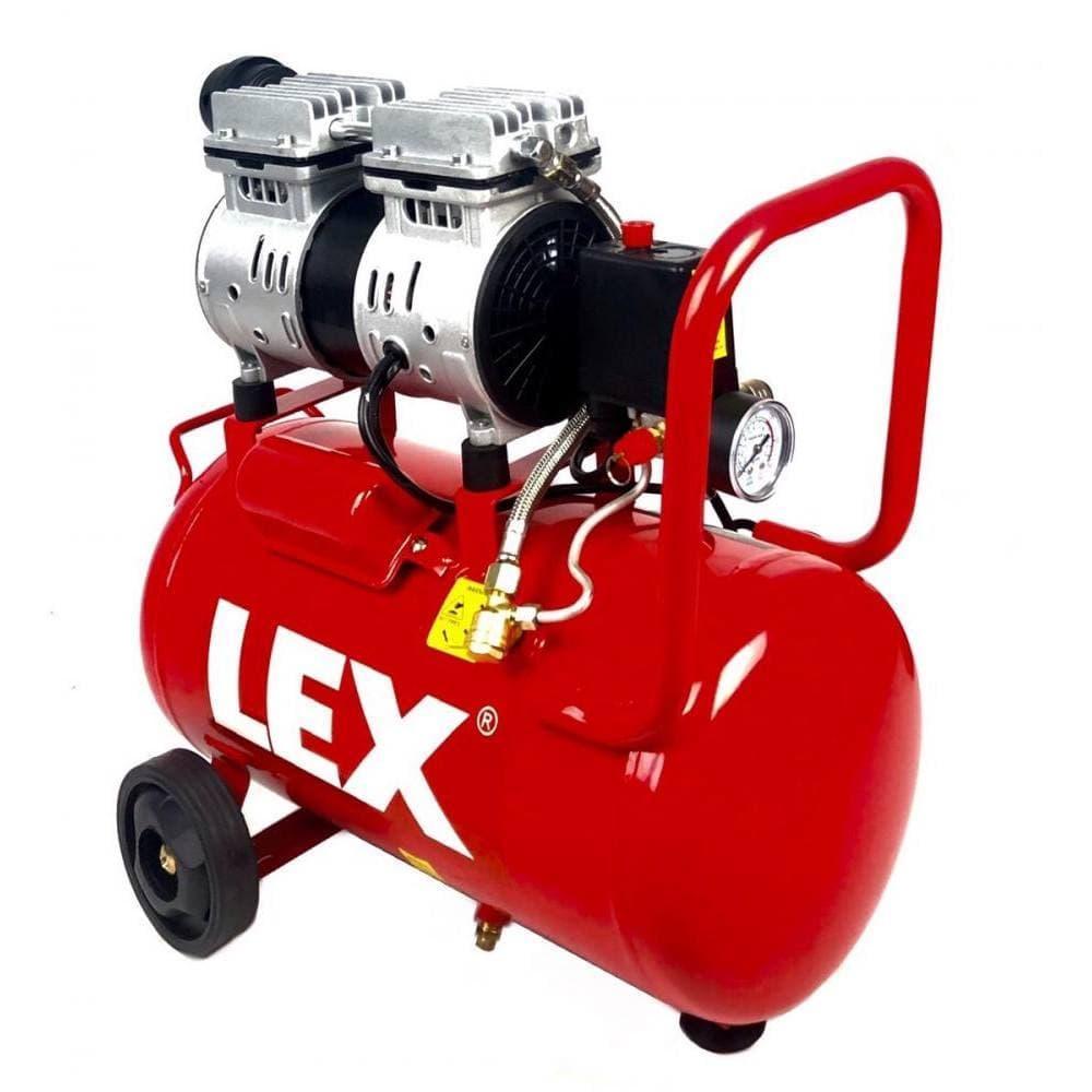 Компрессор воздушный безмасляный одноцилиндровый LEX 24 л (LXAC-24- 11LO)