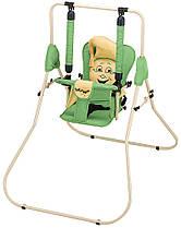 Качель Babyroom Casper  зеленый-бежевый