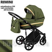 Коляска 2 в 1 Adamex Rimini ECO кожа 100% RI-256