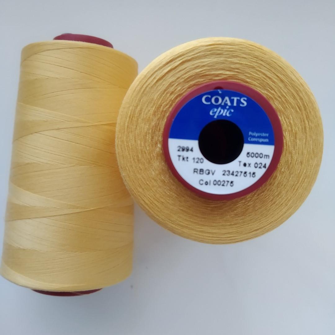 Нитки Coats Epic 00275/ 120/5000м
