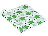 Пеленка ситец Зеленые звездочки #1, фото 2
