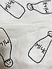 Накидка для кормления + сумочка-чехол №4 Молоко, фото 8