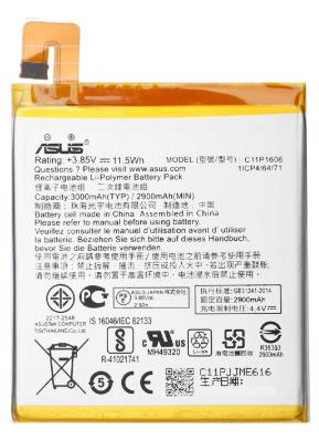 Аккумулятор (Батарея) Asus ZC551KL ZenFone 3 Laser Z01BDC C11P1606 (3000 mAh), фото 2