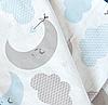 Простынь на резинке в детскую кроватку Луна арт.СТ-15, фото 2