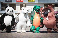 Пневмокостюмы (надувные костюмы, надувные мишки, пневмороботы)