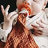 Пустышка Nip Вишенка, 0-6 мес., латекс, для девочки, 2 шт. (Персиковые), фото 3