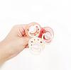 Пустышка Nip Вишенка, 0-6 мес., латекс, для девочки, 2 шт. (Персиковые), фото 9