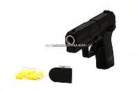 Іграшковий пістолет ZM26 з кульками . Дитяче зброю з металевим корпусом з дальністю стельбы 15-20м, фото 6