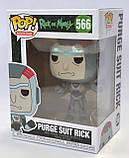 """Колекційна фігурка FUNKO POP! """"Рік і Морті"""" – Рик у механічному костюмі, фото 3"""