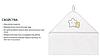 Полотенце махровое с капюшоном BabyOno 76x76 см Звездочки, фото 7