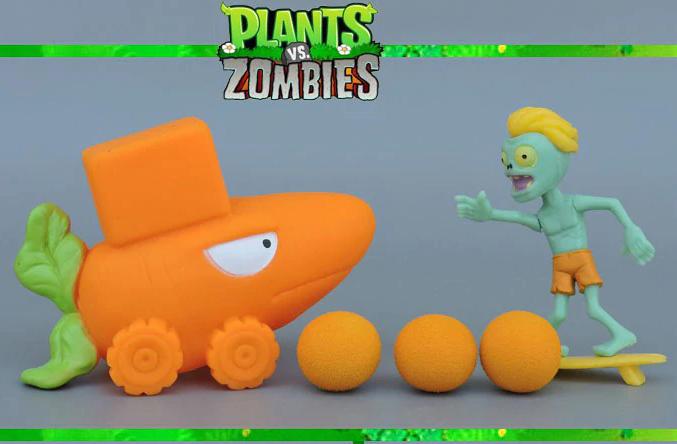 Игрушка Растения против зомби Акула с серфингистом Plants vs zombies
