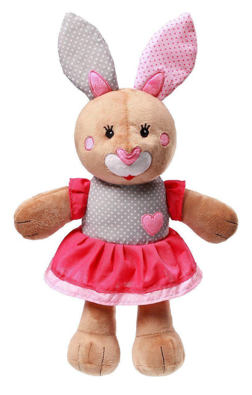 """Игрушка-обнимашка Кролик """"Джулия"""" 0+ BabyOno (высота 36 см)"""