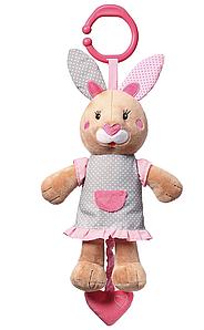 """Музыкальная игрушка Кролик """"Джулия"""" 0+ BabyOno (высота 32 см)"""