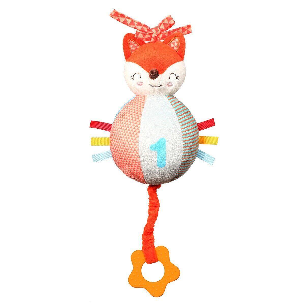 """Музыкальная игрушка """"Лис Винсент"""" BabyOno (высота 26 см)"""
