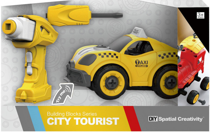 Машинка Taxi- конструктор City Tourist Hulna 2030012