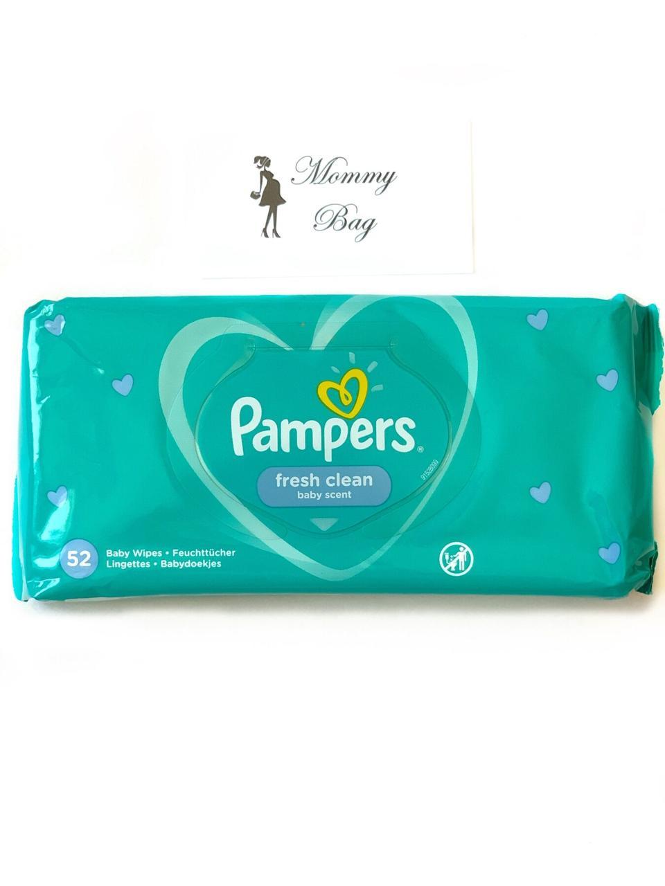 Влажные салфетки Pampers Fresh Clean 52 шт