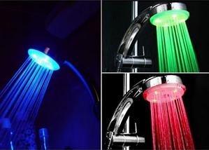 Світлодіодна насадка на душ LED SHOWER 3 colour, фото 2