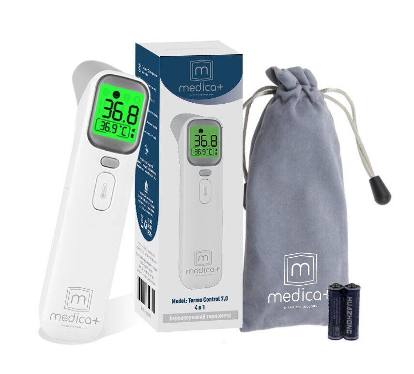 Японский бесконтактный инфракрасный термометр Thermo Control 7.0 Medica - Plus