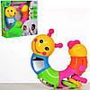 Многофункциональная гусеница Limo toy 9182,трещетка,вертушка,погремушки