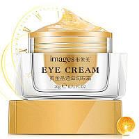 Омолаживающий крем для век с золотом от отеков и темных кругов Images Gold Crystal Moisture Eye Cream, 20г