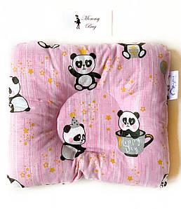 Ортопедическая подушка для новорожденных Панды №14
